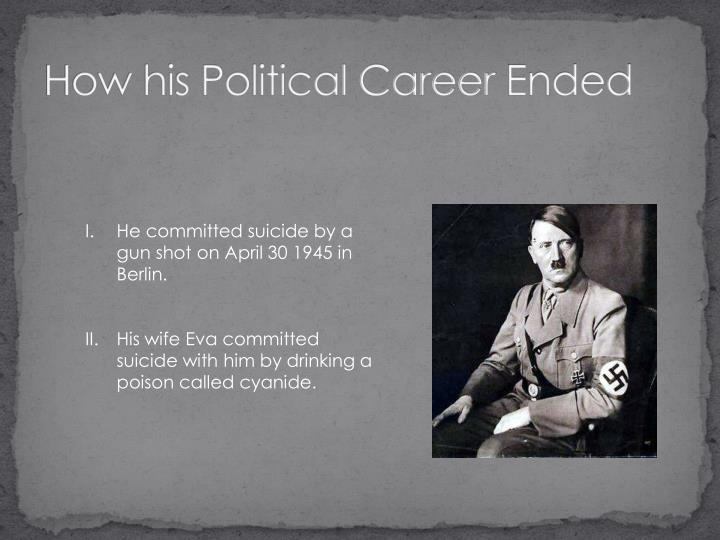 How his Political Career