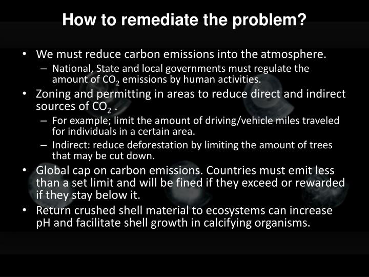 How to remediate the problem?