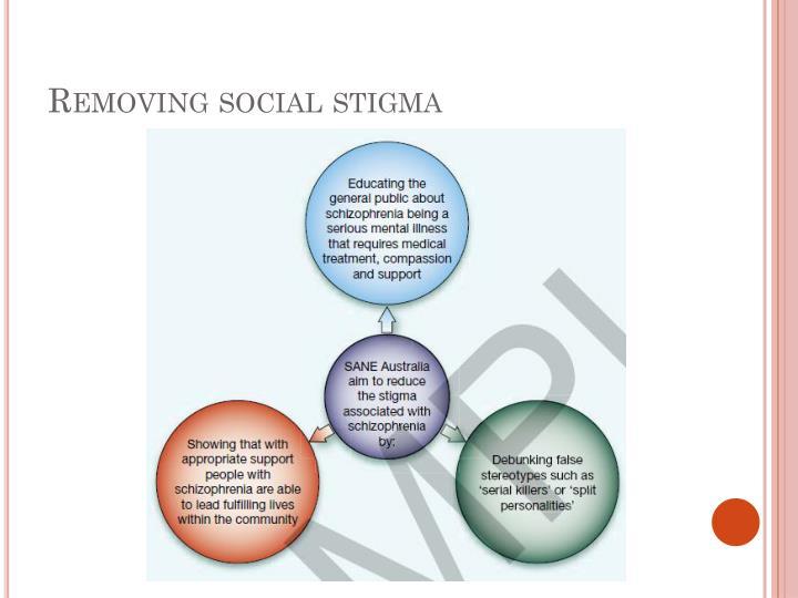 Removing social stigma