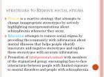 strategies to remove social stigma