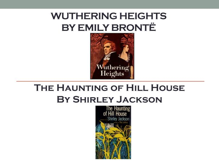 wuthering heights ghost scene essay