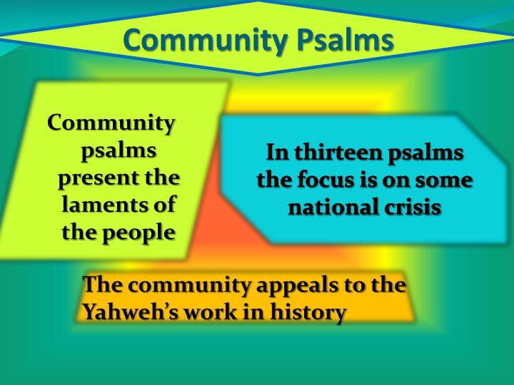 Community Psalms