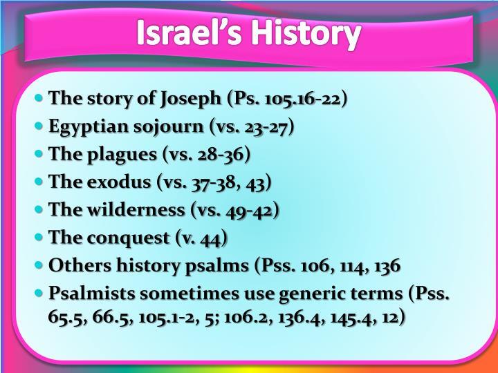 Israel's History