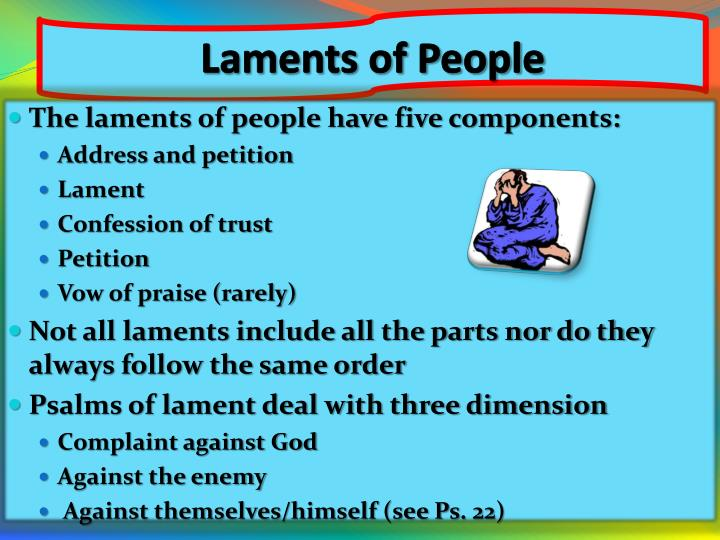 Laments of People