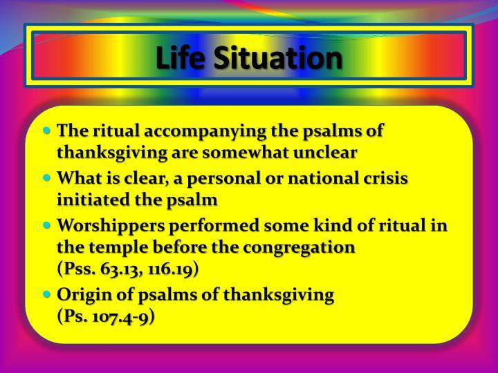 Life Situation