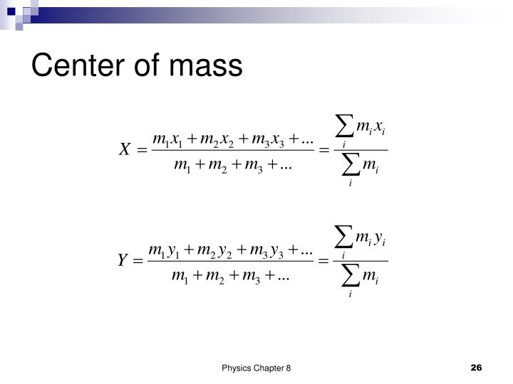 Center of mass