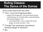ruling classes the dance of the dumas