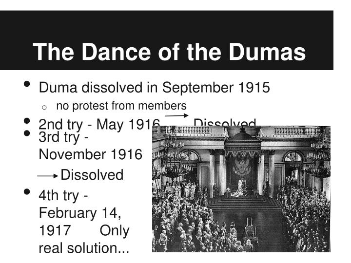 The Dance of the Dumas