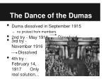 the dance of the dumas
