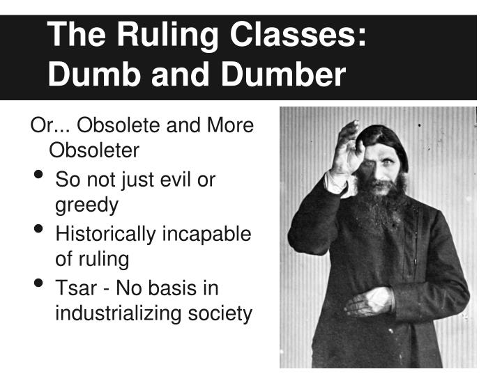 The Ruling Classes: