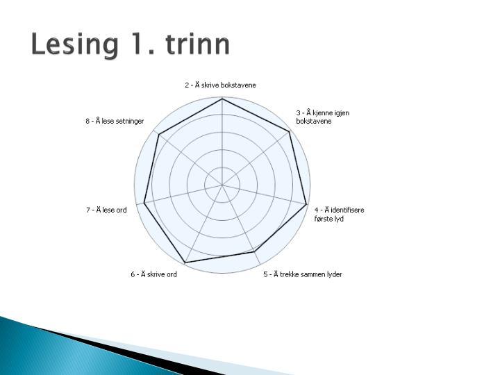 Lesing 1. trinn