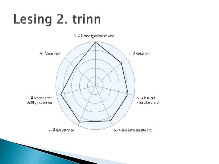 Lesing 2. trinn