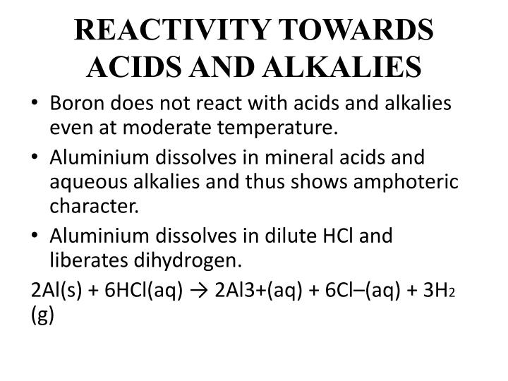 extraction extraction with acid and alkali