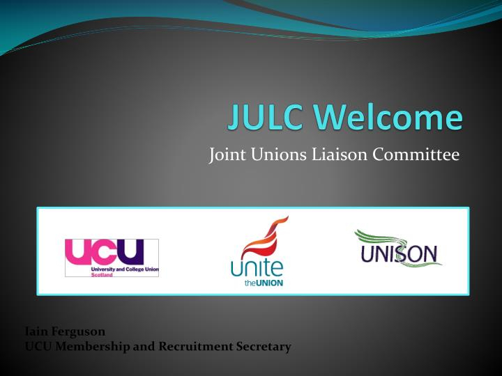 Julc welcome