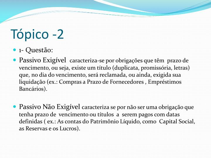 Tópico -2