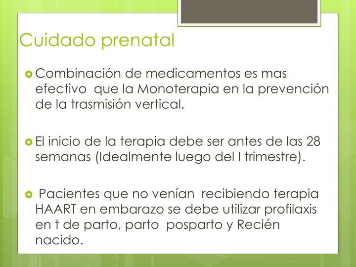 Cuidado prenatal