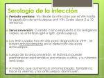serolog a de la infecci n