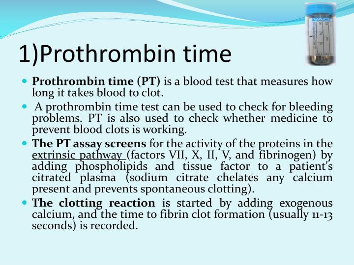 1)Prothrombin