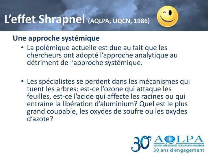 L'effet Shrapnel