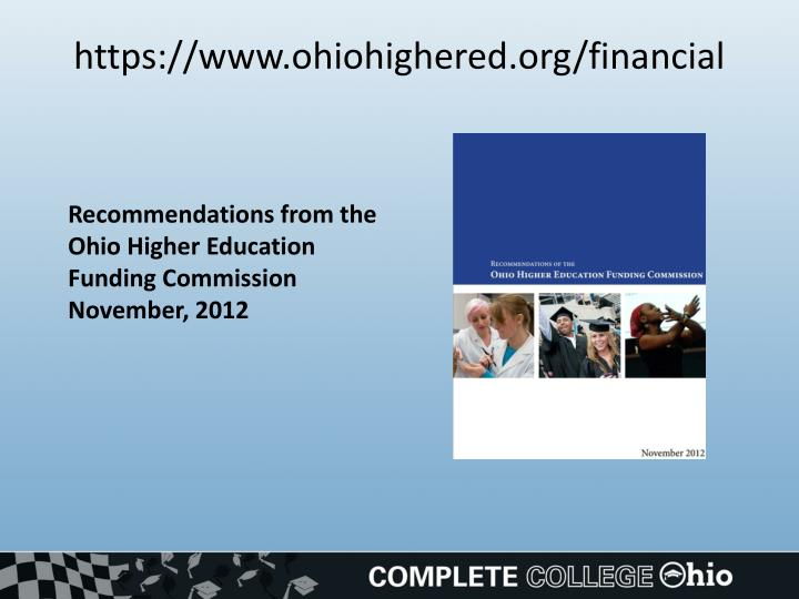 Https www ohiohighered org financial