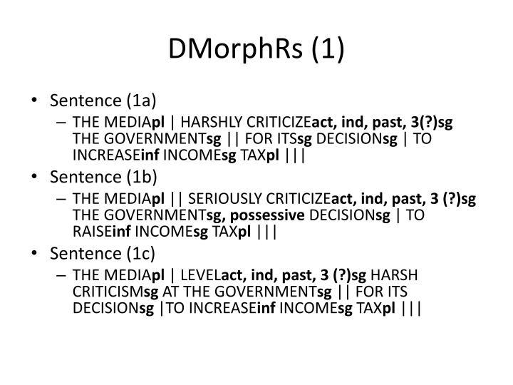 DMorphRs