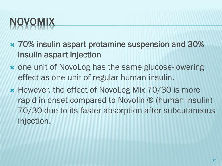 70% insulin