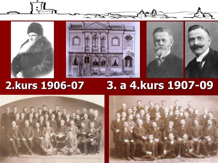 2.kurs 1906-07