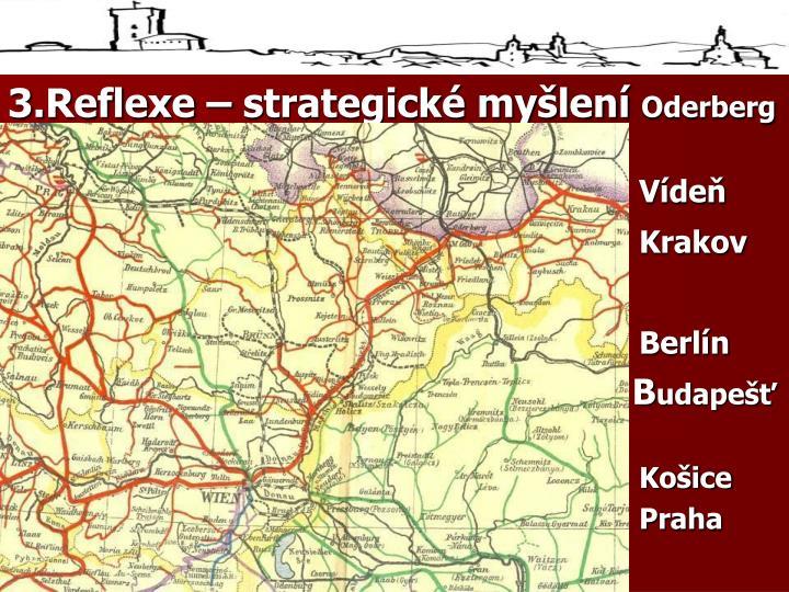 3.Reflexe – strategické myšlení