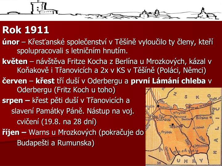 Rok 1911