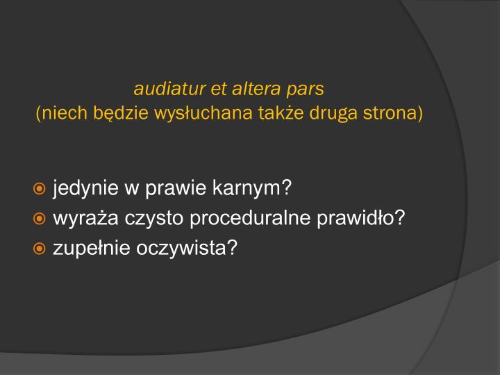 audiatur