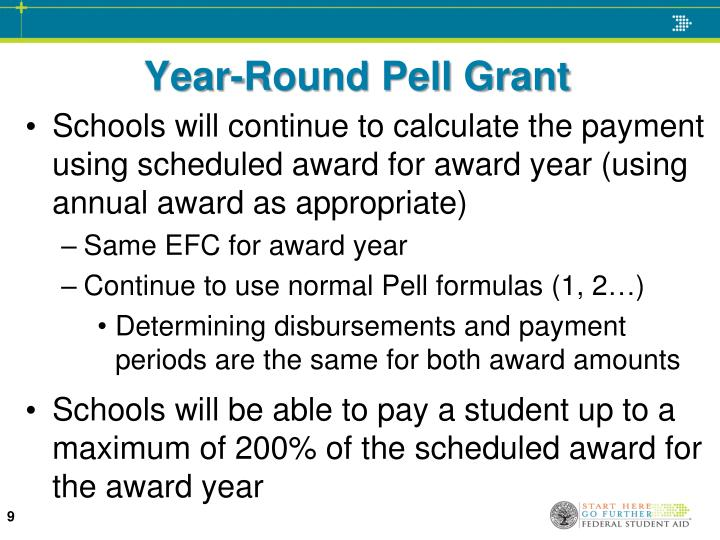 Year-Round Pell Grant