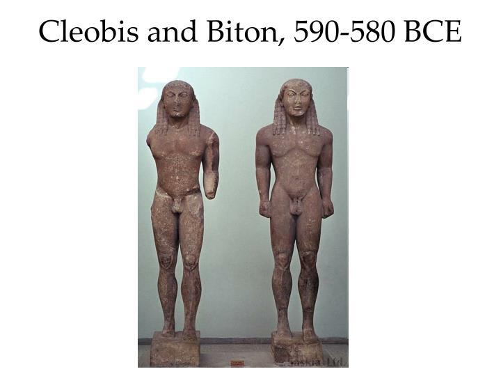 Cleobis and Biton, 590-580 BCE