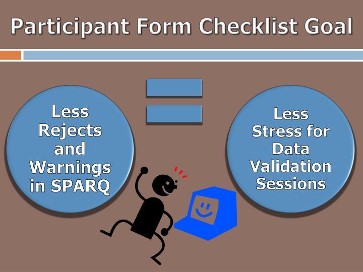 Participant Form