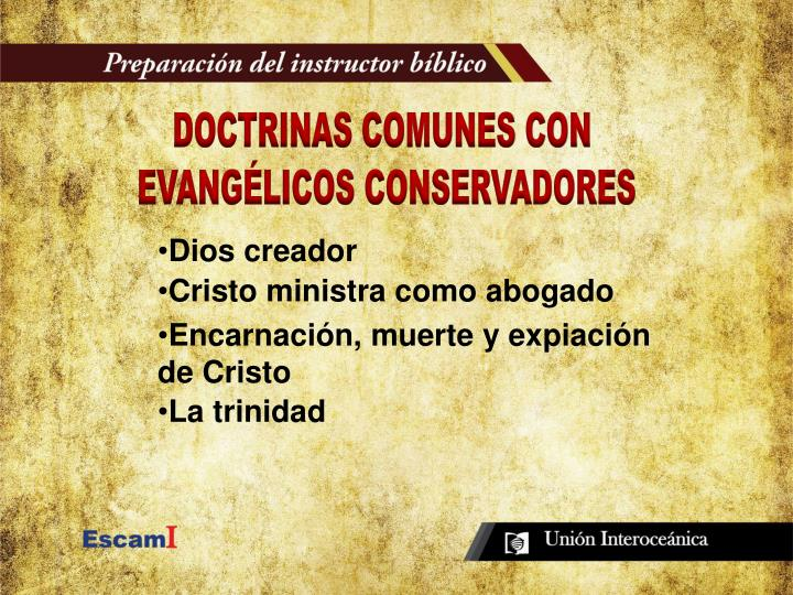 DOCTRINAS COMUNES CON
