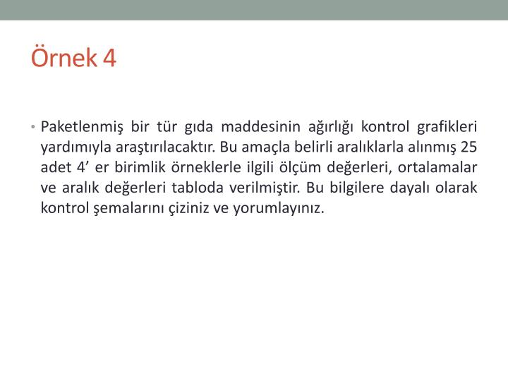 Örnek 4