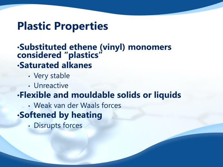 Plastic Properties