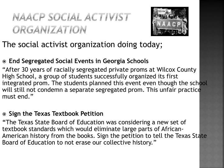 NAACP Social