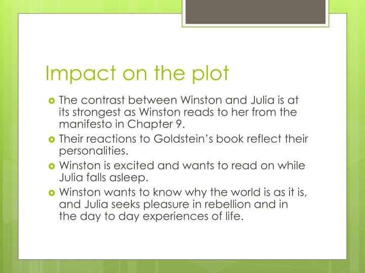 Impact on the plot