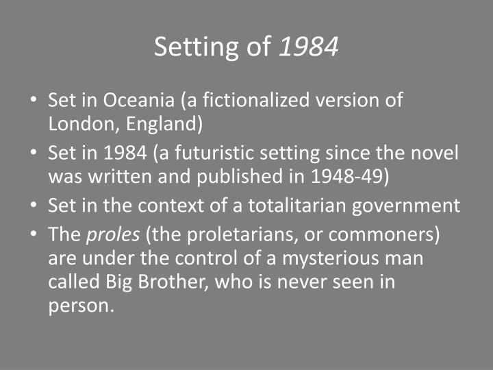 an introduction to the oceanias government branches in the novel 1984 by george orwell 1984, george orwell introduction : definitions  film or novel that uses satire to criticise something utopia  behind 1984, there is a sense of injustice, a .