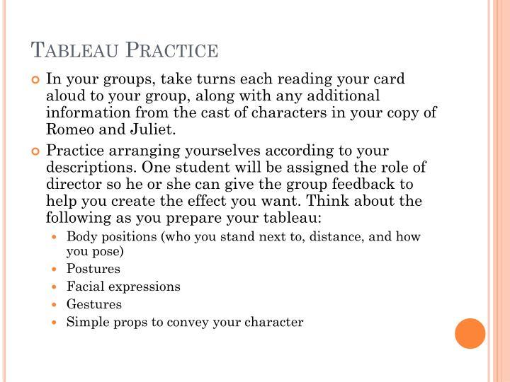 Tableau Practice