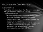 circumstantial consideration1