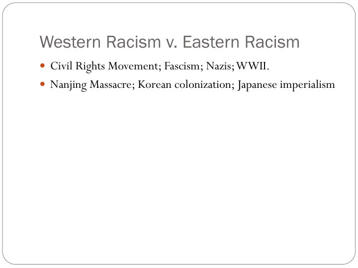 Western Racism