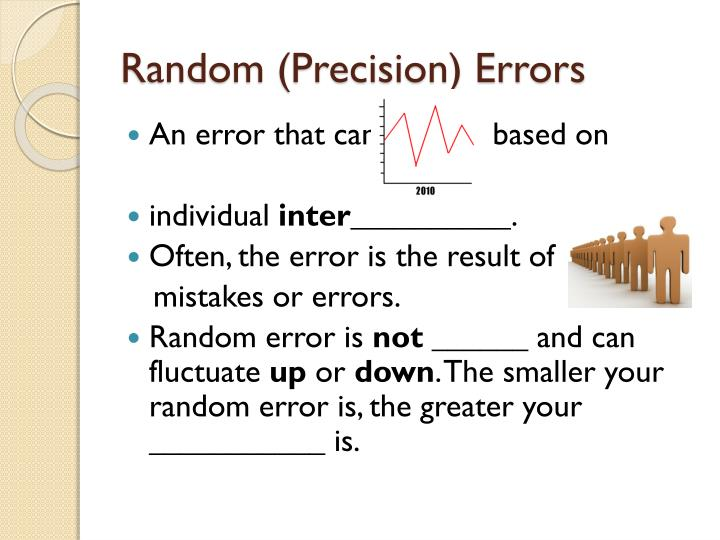 Random (Precision) Errors