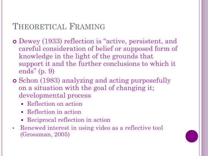 Theoretical Framing