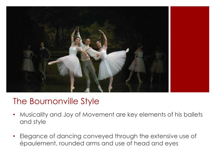 The bournonville style
