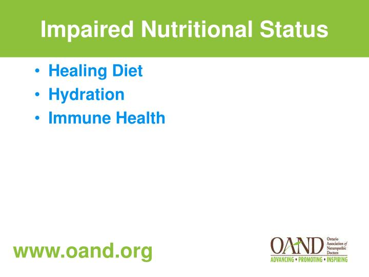 Impaired Nutritional