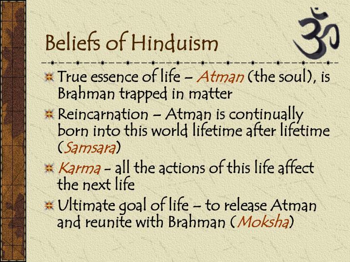 Beliefs of Hinduism