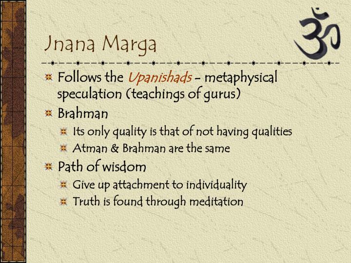 Jnana Marga