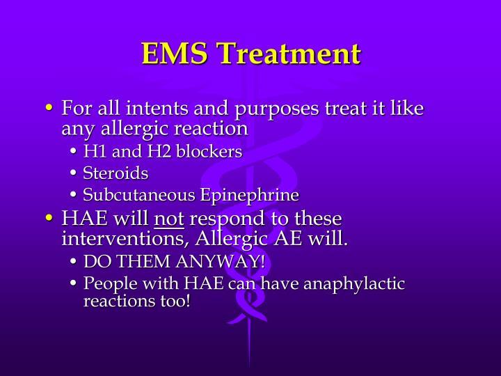 EMS Treatment