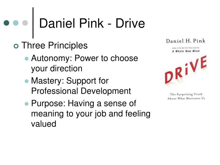 Daniel Pink - Drive